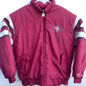San Francisco 49ers LOGO 7 Puffer Jacket size M